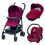 Bébé Confort Maia Access - Cochecito trío, color rojo