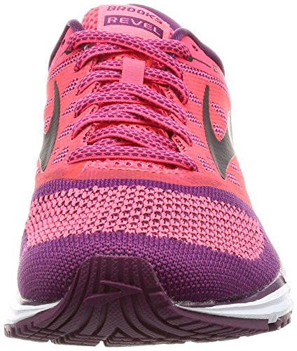 Brooks Damen Revel Laufschuhe Pink (Divapink/plumcaspia/black 1b637)
