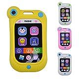 Demiawaking Elektronisches Telefon Kind Handy Mobiltelefon Telefon pädagogische Spielwaren Baby Spielzeug (1)