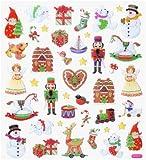 Hobby Design Sticker * Winter - Weihnachten VIII * Aufkleber 3452395 a