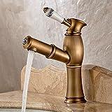 WYX@ WC du bassin continental télescopique robinets chaud et froid, cuivre chaud / froid lavabo robinet