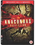 Anaconda 1 - 4 Box Set [DVD]