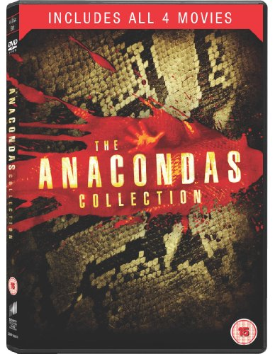 Anaconda / Anaconda 3: Offspring / Anacondas: The Hunt for the Blood Orchid / Anacondas: Trail of Blood - Set [4 DVDs] [UK Import]