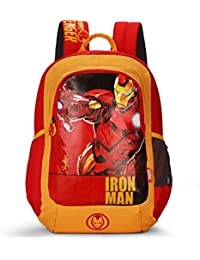 Skybags Sb Marvel Champ 18.9297 Ltrs Red School Backpack (SBMRC07RED)