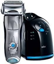 Braun 790CC, Braun Series 7 790 cc Wet and Dry Shaver with Clean and Charge Station, Silver