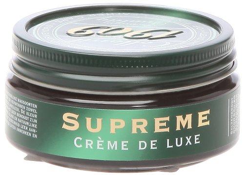 Collonil 1909 Supreme Creme de Luxe, Cera per scarpe, Nero (Noir), Taglia Unica