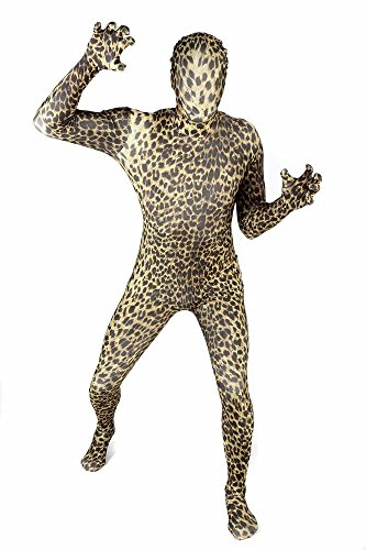 Morphsuits Costume leopardo, M