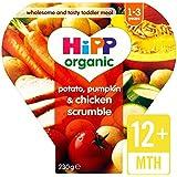 HiPP pommes de terre biologiques, citrouille & Chicken Scrumble 12 + Mois 230g