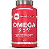 Prozis Foods Omega 3-6-9, Suplementos - 120 capsulas blandas