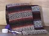 Authentische mexikanische Falsa-Decke, hergestellt in Mexiko von Blanket