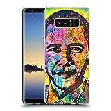 Head Case Designs Ufficiale Dean Russo Obama Leader Famosi 2 Cover Morbida In Gel Per Samsung Galaxy Note8/Note 8