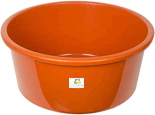 HomeStrap Unbreakable 24 Inch Tub - Orange