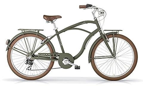 Vélo MBM MAUI 2016 cruiser homme (Vert militaire opaque, 26