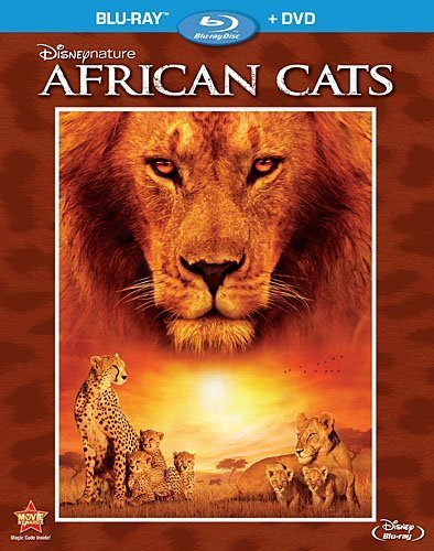 Disneynature: African Cats (Two-Disc Blu-ray/DVD Combo in Blu-ray Packaging) by Walt Disney Studios Home Entertainment