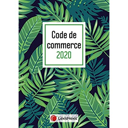 Code de commerce 2020 jaquette Tropical