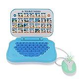Joyibay Computer Portatile D Apprendimento Giocattolo Interattivo di Prima Infanzia Inglese Cinese Macchina Didattica con Mouse