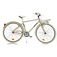 Bicicleta de Hombre 28 1028su sin cambio Sport Bike Aurelia Cappuccino