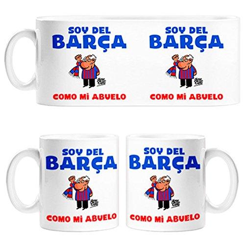 Taza soy del Barça como mi abuelo - Cerámica