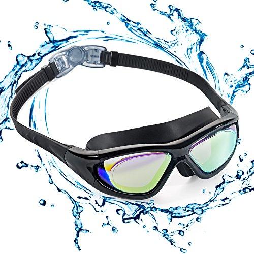Occhialini da nuoto con montatura grande, Polarizzati. Occhialini da nuoto, anti-perdita,...