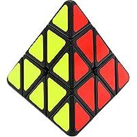 Herramientas para trabajar la madera Triángulo Cubo Mágico, Cubo de Velocidad Mágica Profesional Cone Puzzle Profesional Educación Juguetes para Niños