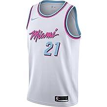 Nike NBA Miami Heat Hassan Whiteside 21 2017 2018 City Edition Jersey Official, Camiseta de