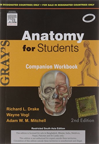 Gray's Anatomy for Students: Companion workbook 2/Ed (Old Edition)