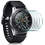 IVSO Pellicola Protettiva per Samsung Galaxy Watch 46 mm SM-R800/SM-R805, Pellicola Protettiva Schermo in Vetro Temperato per Samsung SM-R760 Gear S3/Samsung Galaxy Watch 46 mm SM-R800/SM-R805, 4 Pack