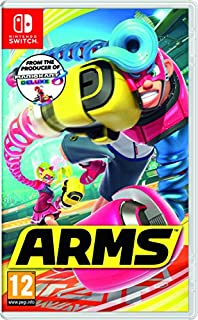 ARMS (Nintendo Switch) (B01MY7L1LT) | Amazon Products