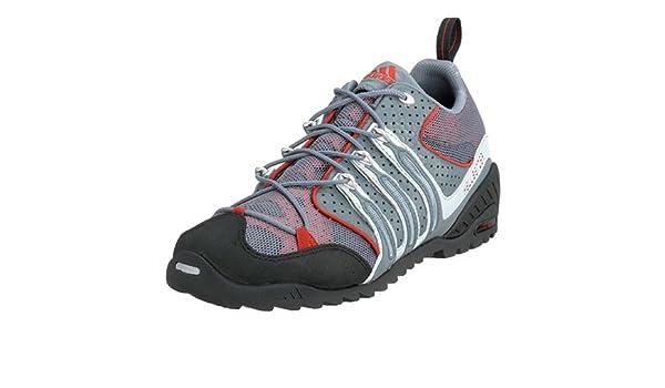 Adidas Men's Hellbender Outdoor Shoe, Metl Gry/Deep Oxide