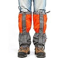 Roful Malla Nieve Aire Libre Impermeable Legging Calzas Botas Arranque 600D Tela Oxford Anti-rasgadura para Caminatas Aire Libre Caminando Caza Escalada Montaña