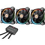 Thermaltake - Riing 12 RGB - Ventilateur PC LED RGB (Pack de 3) RGB Edition