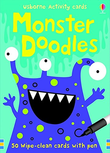 Monster Doodles (Activity and Puzzle Cards) por Fiona Watt