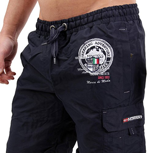 GEOGRAPHICAL NORWAY Herren Bade Shorts Quatino Navy Navy