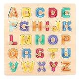 AOLVO Puzzles à Chevilles en Bois, Puzzles Aimantés de Cognition, Jouet de Premier Age pour Les Enfants 1-3-6 Ans, Élever Le Bébé Intelligent - 09