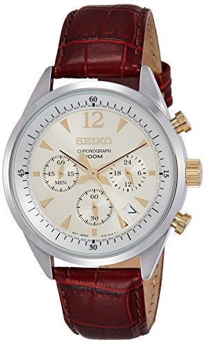 SEIKO SSB069P1 – Reloj de Caballero movimiento de cuarzo con brazalete metálico