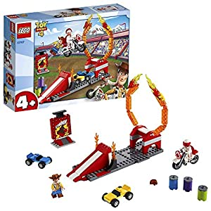 LEGO Juniors Le Acrobazie di Duke Caboom, Gioco per Bambini, Multicolore, 262 x 191 x 61 mm, 10767 LEGO Juniors LEGO