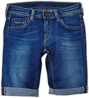 Pepe Jeans Boys Becket Shorts, Blue (Denim), 3 Years