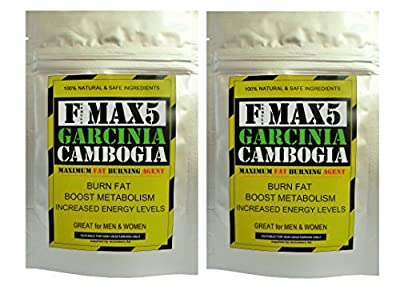 Garcinia Cambogia Fat Burner Capsules - Strong Slimming Weight Loss Diet Pills Max from fmax5 supplements ltd