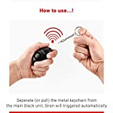SENIOR WORLD Juvo Personal Safety Panic Alarm with Extremely Loud 120 db Siren to Attract Attention & Deter Attackers/Assaulters.