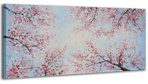 100% LABOR A MANO + certificado / 115x50 cm / El cielo colorido / El cuadro dibujado con pinturas acrílicas / cuadros sobre el lienzo con bastidor de madera / cuadro dibujado a mano / montaje cómodo sobre la pared / Arte contemporáneo