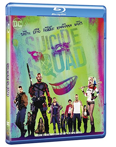 suicide squad BluRay Italian Import
