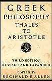 Greek Philosophy (Readings in the History of Philosophy)