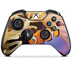 DeinDesign Skin kompatibel mit Microsoft Xbox One Controller Aufkleber Folie Sticker Anemonenfisch Clownfisch Nemo Fisch