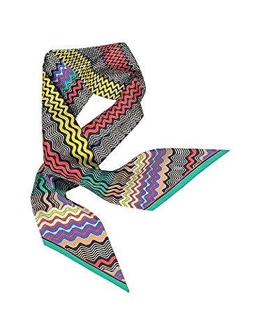 Missoni Damen Sc2ftwd57510008 Multicolour Seide Schal (Missoni Multi Color)