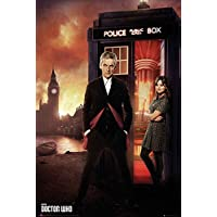 Empire merchandising 663 429 Doctor Who, Serie 8 Ritratto, serie Locandina cinematografica Cinema TV Movie, dimensioni 61 x 91.5