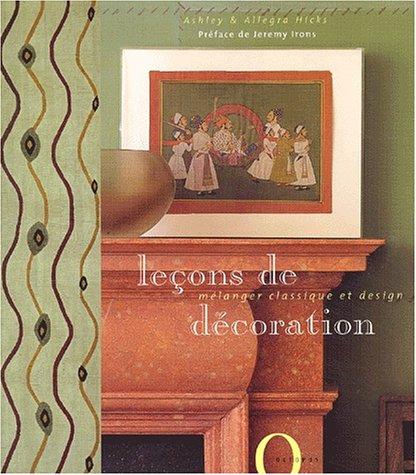 Leçons de décoration par A. Hicks