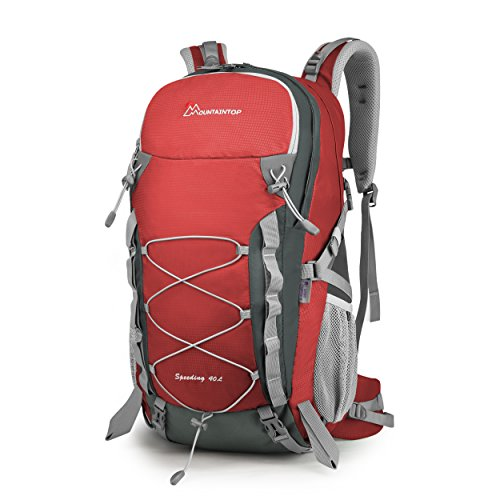 Mountaintop Erwachsene DSM6000hongseDE Rucksack, Rot, 40L