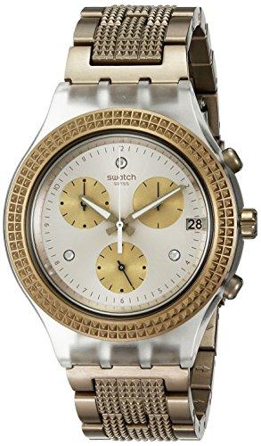 Swatch svck4079ag–Orologio, cinturino in alluminio