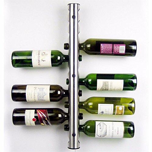 DyNamic Mental 12 Loch Wein Flaschenhalter Wand Montiert Weinregal Halter Stand Kitchen Bar