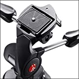 Manfrotto Compact Advanced Aluminium Tripod with 3 Way Head - Black